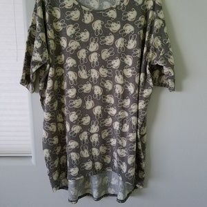 Womans top, T, Tunic